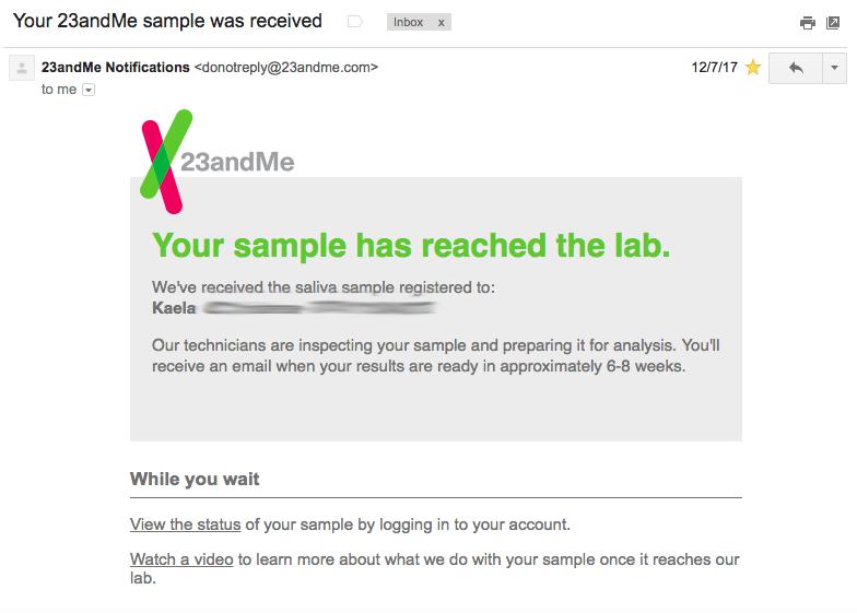 23andMe DNA Test Review – Kaela Celeste